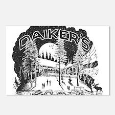 Daiker's Logo Postcards (Package of 8)