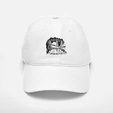 Daiker's Logo Baseball Baseball Cap (White)