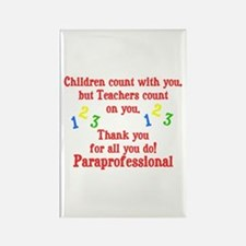 Paraprofessional Rectangle Magnet