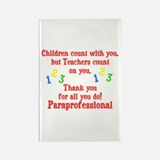 Paraprofessional Rectangle Magnet (100 pack)