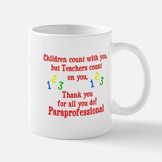 Paraprofessional Mug
