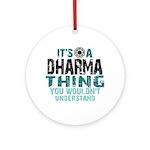 Dharma Thing Ornament (Round)