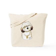 Havanese Caricature Tote Bag