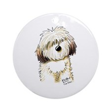 Havanese Caricature Ornament (Round)