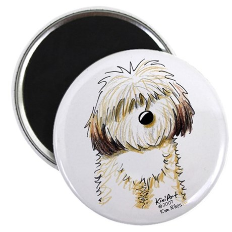 "Havanese Caricature 2.25"" Magnet (10 pack)"