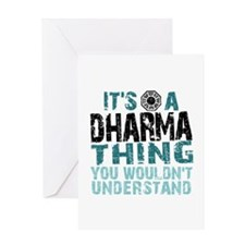Dharma Thing Greeting Card