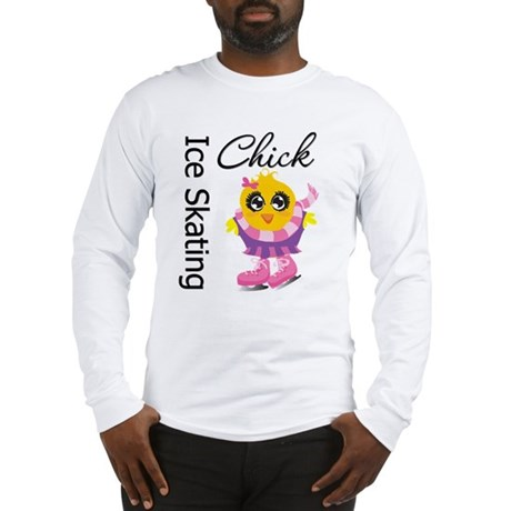 Ice Skating Chick Long Sleeve T-Shirt