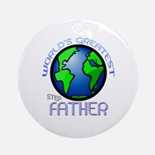 World's Greatest Step-Father Ornament (Round)