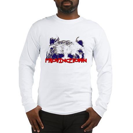 Provincetown Bear Long Sleeve T-Shirt