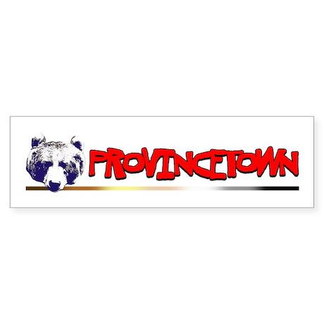 Provincetown Bear (H) Bumper Sticker