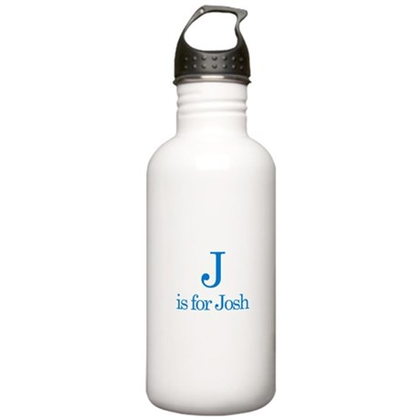 J is for Josh Stainless Water Bottle 1.0L