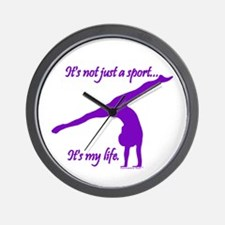 Gymnastics Clock - Life