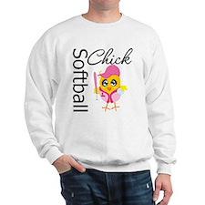 Softball Chick Sweatshirt