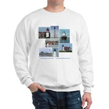 Massachusetts Lighthouses Sweatshirt