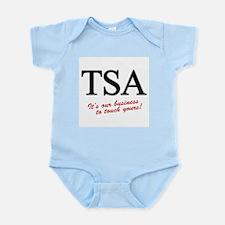 TSA Our Business Infant Bodysuit