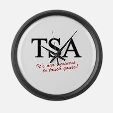 TSA Our Business Large Wall Clock
