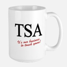 TSA Our Business Large Mug