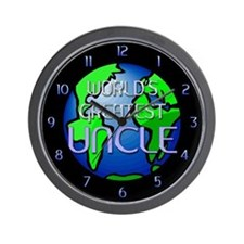 World's Greatest Uncle Wall Clock
