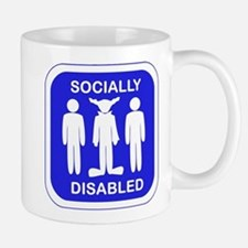 Socially Disabled Mug