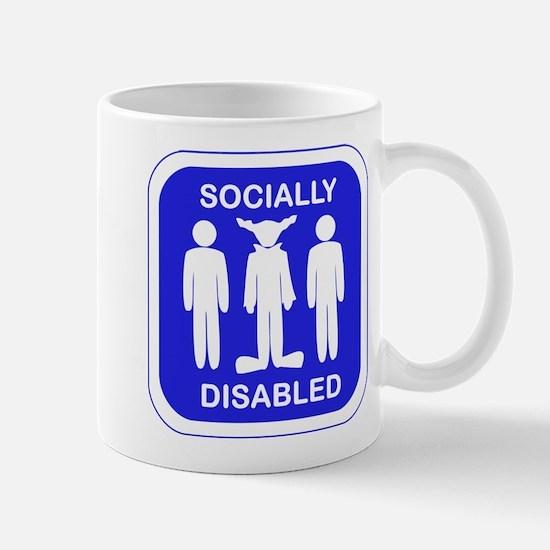 Socially Disabled Mug