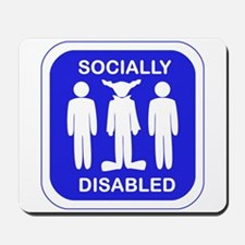 Socially Disabled Mousepad