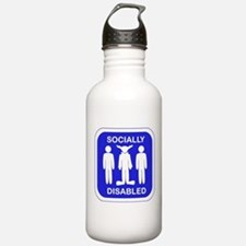 Socially Disabled Water Bottle