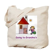 Going to Grandma's Tote Bag