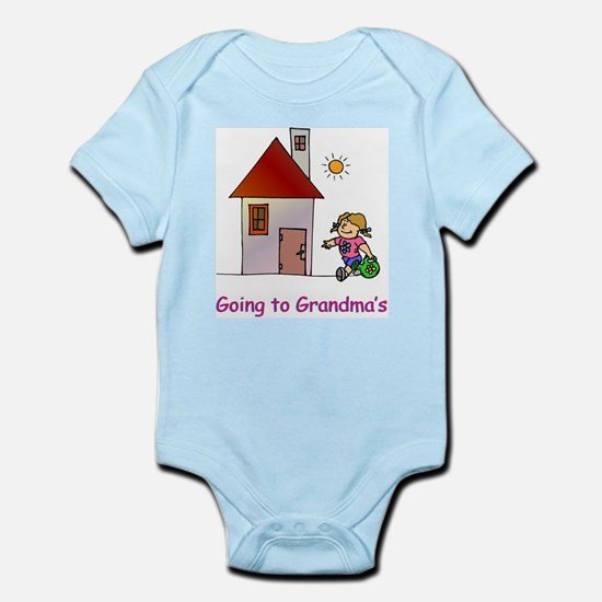 Going to Grandma's Infant Creeper