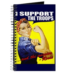 Rosie Supports The Troops Journal