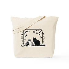 Arts and Cats Tote Bag