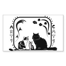 Arts and Cats Decal