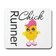 Runner Chick Mousepad