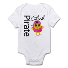 Pirate Chick Infant Bodysuit