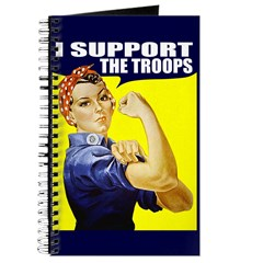Rosie Supporting The Troops Journal
