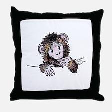 Pocket Monkey II Throw Pillow
