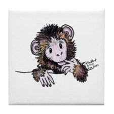 Pocket Monkey II Tile Coaster