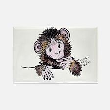 Pocket Monkey II Rectangle Magnet (10 pack)