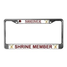 Shriners License Plate Frame