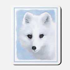 Arctic Fox Mousepad