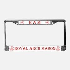 Masonic Royal Arch License Plate Frame
