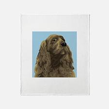 Sussex Spaniel Throw Blanket