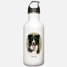 Border Collie 9Y411D-009 Sports Water Bottle