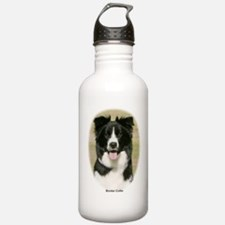 Border Collie 9Y411D-009 Water Bottle