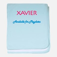 Xavier - Available for Playda baby blanket