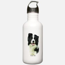 Border Collie 9A015D-24 Sports Water Bottle