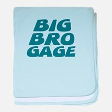 Big Bro Gage baby blanket