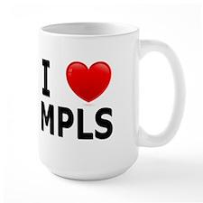 I Love Minneapolis Mug