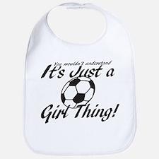 Soccer - It's a Girl Thing! Bib