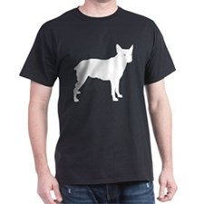 Stumpy Tail Cattle Dog Black T-Shirt