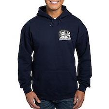 Daikers Logo Navy Hoodie